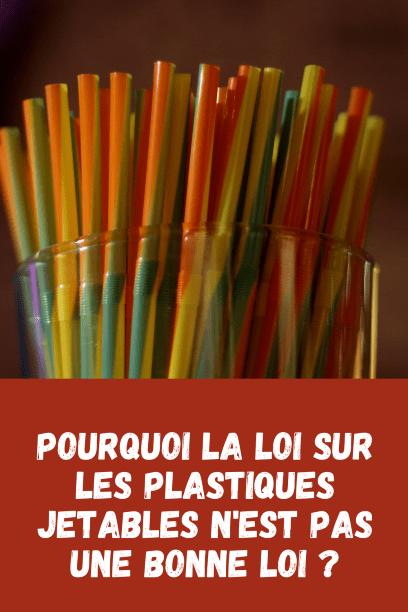 Interdiction vaisselle plastique jetable