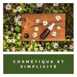 Cosmétique et simplicité