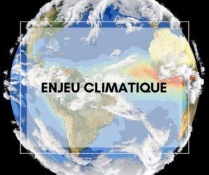 enjeu climatique